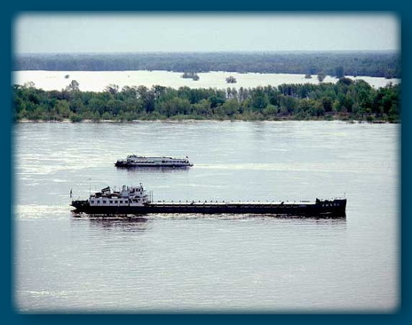 Волга под Волгоградом